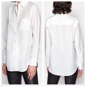 Equipment Femme Kenton Cotton Button Front Top